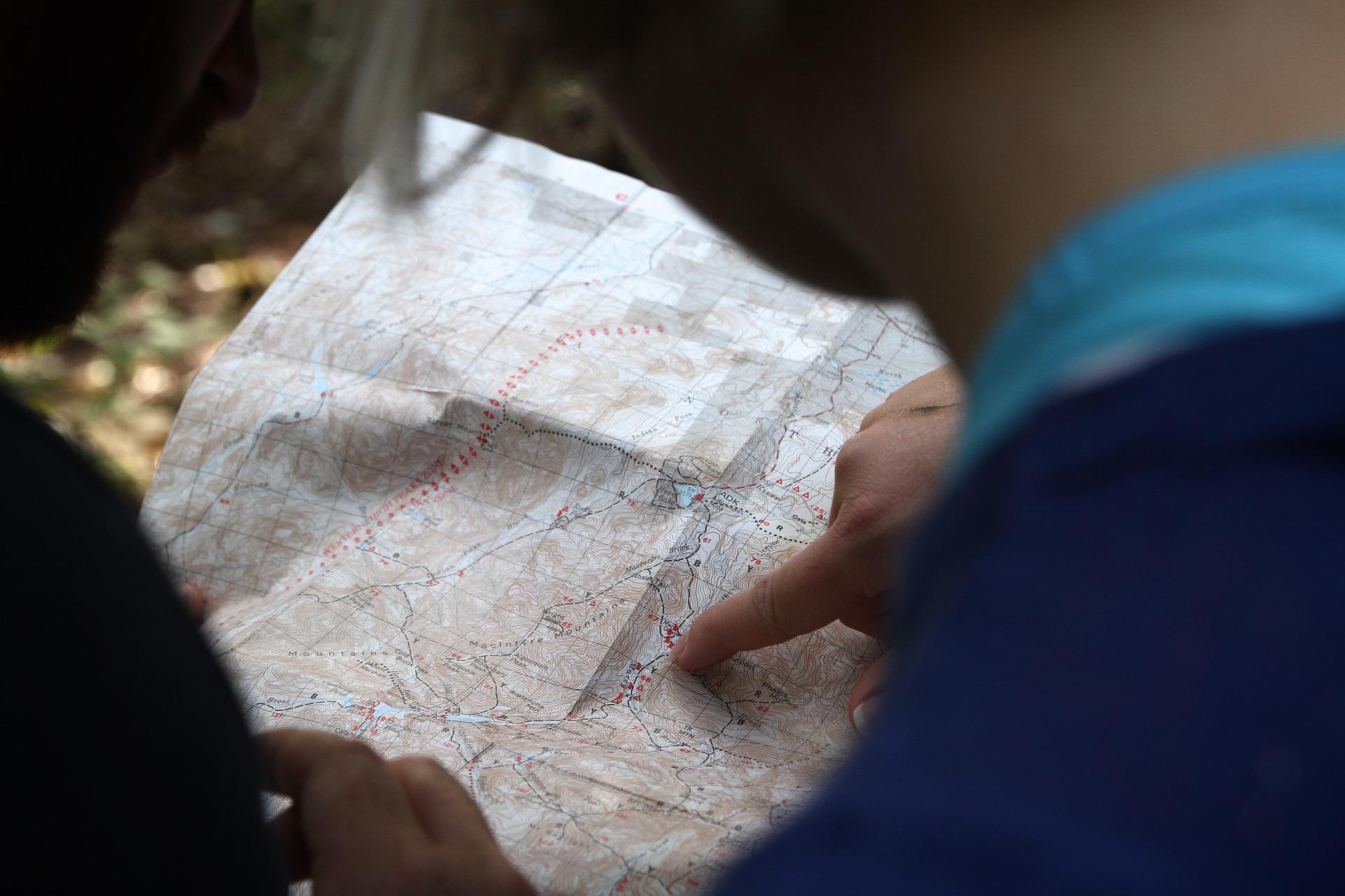pénzügyi térkép