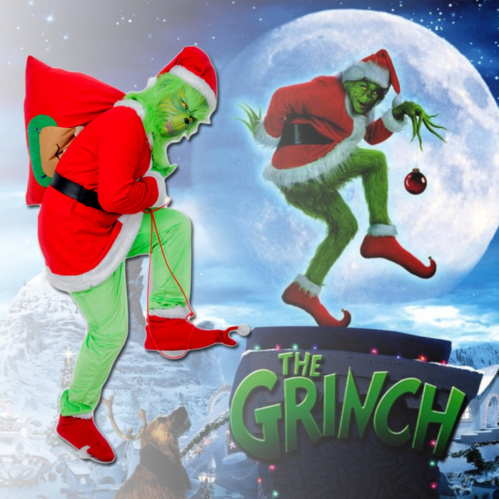 Karácsonyi ajándék tippek - grinch