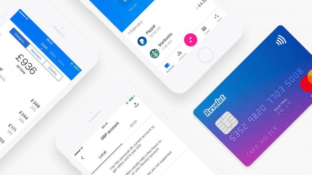 Revolut kártya app